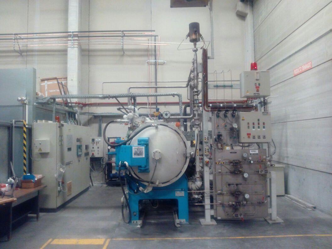Horno de nitruración a alta presión